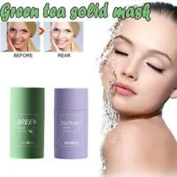 Green Tea Cleansing Eggplant Purifying Clay Stick Control Women Gifts