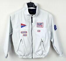GANT Kids Age 7-8 Coat 122/128 cm Outdoors Hiking Nylon White Jacket Boys Girls