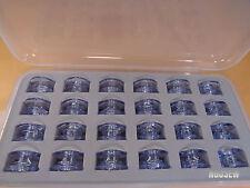 Box of 24 Clear Bobbins Pfaff creative sensation performance vision 2.0 3.0 4.0