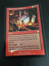 MTG MAGIC SCOURGE/SCOURGE DECREE OF ANNIHILATION (FRENCH VERSION DECREE D'