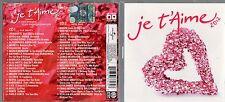 JE T'AIME 2012 2 CD JOVANOTTI MODA EMMA NEGRITA ZUCCHERO J AX NESLI QUEEN ADELE