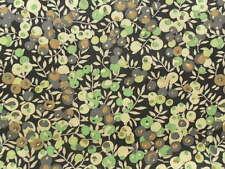 Liberty Tana Césped Tela De Algodón Wiltshire Berry 2.55 M Verde/Negro 255 Cm