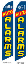 New listing Auto Alarms Flutter Feather Flag Swooper Advertising Sign Ba
