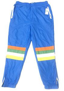 LRG ANNIVERSARY Woven  Sweatpants Size Large ( A195001Q ) Blue