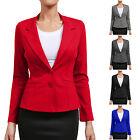 NE PEOPLE Women Long Sleeve Chic Office Blazer Jacket with Welt pockets NEWJ112