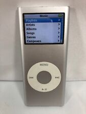 Apple iPod Nano 2nd Generation White (2 Gb) Silver Works