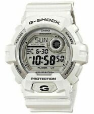 Casio G-Shock Mens G-8900A World Time White 52mm Watch Rare Digital Shockproof