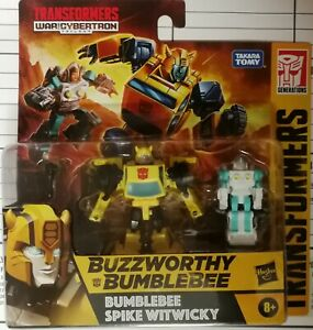 Transformers Generations War for Cybertron BUZZWORTHY BUMBLEBEE