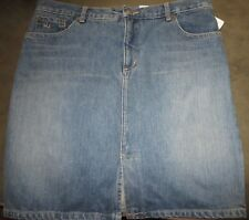 Marc Jacobs Womens Blue Denim Skirt SZ 12  Made In USA Brand New W/ Tags