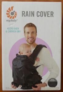 Genuine ERGObaby ERGO BABY Infant Water Resistant Carrier Rain Cover, Black