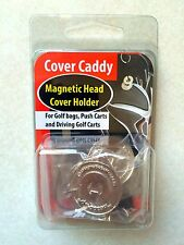 Magnetic Head Cover Holder - Attaches to your golf bag!
