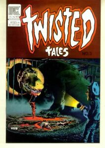 TWISTED TALES #3 (Pacific Comics, 1983) NM!
