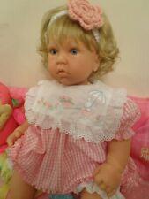 "ADORABLE REVA SCHICK Lee Middleton Reborn Doll Girl "" Pretty Posiess"" 22"" LOOK!"