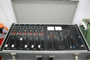 ABE TM 63 analog Mischpult 6 Kanal Vintage +Case super Zustand GEPRÜFT Studer VU