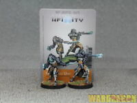 30mm Infinity WDS painted Tohaa Gao-Rael Unit (Spitfire / Sniper Rifle)k46