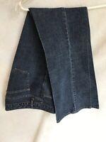 ***Women's Vintage Dark Blue Jeans.***