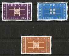 Zypern CEPT Europa 225 - 227 ** postfrisch Michel 40,00 Euro MNH