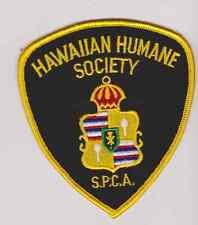 Hawaiian Humane Society SPCA  Animal Control Officer Police Patch