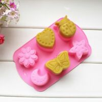 1pc Silicone Cake Fondant Mould Decorating Mold Chocolate Baking Sugarcraft Tool