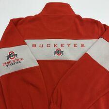 Ohio State Buckeyes Fleece Pullover Adult Medium Large Red NCAA College