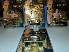 LOT OF 4 RACING CHAMPIONS 24K GOLD 1 OF 9998 GOLDBERG WCW NEW IN PACKAGE