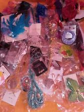 Wholesale Seller's Lot of 65 Pieces of Mixed Costume Jewelry