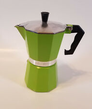 MR COFFEE STOVE TOP ESPRESSO MAKER GREEN UNUSED