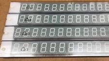 """28 X  COTCO LD3-GW80SR-C11 GRAY FACE, 3 X 0.8"""" 7 SEGMENT LED DISPLAY"""