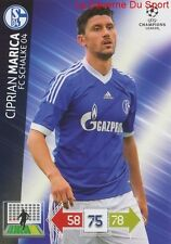 U111 CIPRIAN MARICA FC SCHALKE 04  CARD CHAMPIONS LEAGUE ADRENALYN 2013 PANINI