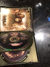 The Lord of the Rings: The Fellowship of the Ring DVD, 2002, 2-Disc Set