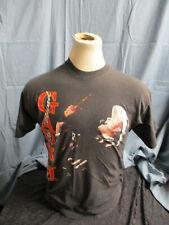 Vintage 1990's Garth Brooks Hanes Ropin The Wind Black T-Shirt Large