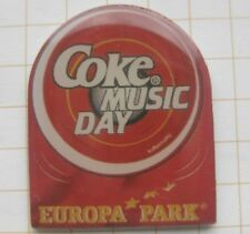EUROPAPARK RUST /  COCA-COLA COKE MUSIC DAY......... Freizeitpark Pin (137k)