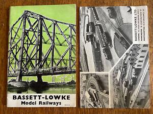 Vintage Bassett-Lowke LTD Model Railways 2 Catalogs