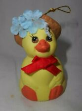 GiftCo Inc Chick Chicken or Duck Bell Christmas or Easter Ornament- Never used