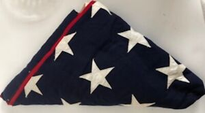 Military Folded Funeral Flag. Presented in March 2012