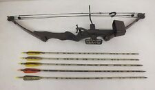 Golden Eagle Full Size Right Handed Compound Bow w/5 Easton Arrows (4 Heads)