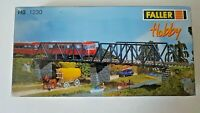 Faller HO-Scale Box Girder Bridge #1230 Building for Model Train Layout SEALED