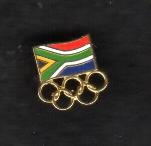 OLYMPIC GAMES. NOC  PIN. SOUTH AFRICA. SMALL PIN