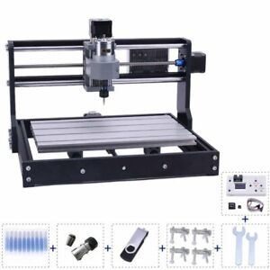 3018 Mini CNC Router Machine 3 Axis Milling Cutter Machine Wood Router Engraver