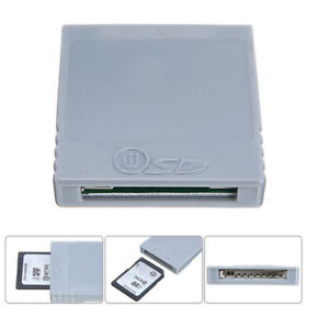 Memory Card Stick Reader Adapter Converter for Wii Console Game AccessoriesJ Gf