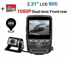 Dual Lens 2CH Dash Cam 1080P Wifi 2.31