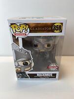 Funko POP!Movies # 859 Gladiator Maximus With Helmet Special Edition