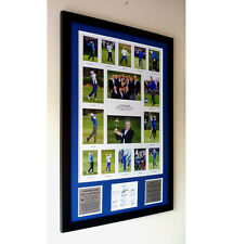 European Ryder Cup 2014 Winners – Multi-photo framed Presentation c/w signatures