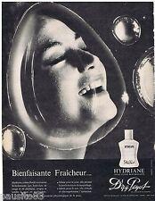 PUBLICITE ADVERTISING 115  1961  DR PAYOT  cosmétiques creme HYDRIANE