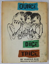 Ounce Dice Trice by Alastair Reid Stated 1st ed 1958 Illustrated Little Brown HC
