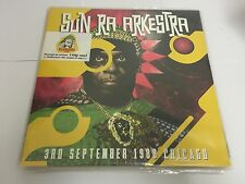 Sun Ra Arkestra - 3rd September 1988 Chicago 180 GRM NEW 2 LP Set SEALED