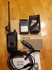 ICOM ID-51A Plus Handheld DSTAR radio, extras!