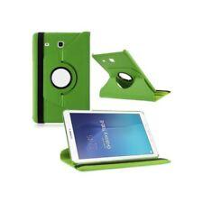 Custodie e copritastiera Verde Per Samsung Galaxy Tab in pelle sintetica per tablet ed eBook