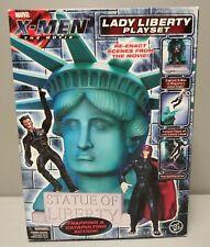 MARVEL TOYBIZ 2000 X-MEN THE MOVIE LADY LIBERTY PLAYSET NEW
