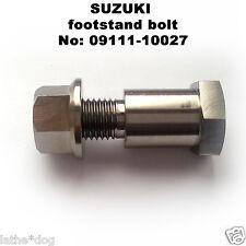 GSXR750 (1996-1999) TITANIUM bike stand bolt.  No:09111-10027